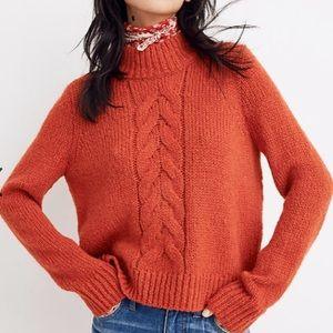 Madewell bayfront turtleneck sweater   size XXL